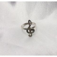 Колечко скрипичный ключ