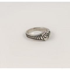Серебряное кольцо CTR